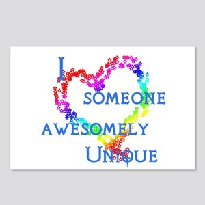 Love Awesomely Unique Postcards (Package of 8)