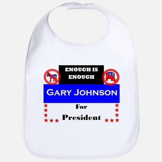 Gary Johnson for President Bib