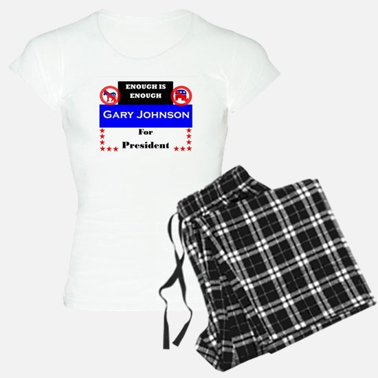 Gary Johnson for President Pajamas