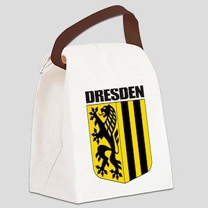 Dresden (gold) Canvas Lunch Bag