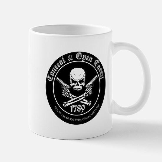 Open Carry & Concealed Carry Logo Mug