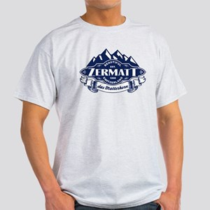 Zermatt Mountain Emblem Light T-Shirt