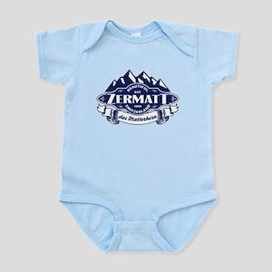 Zermatt Mountain Emblem Infant Bodysuit