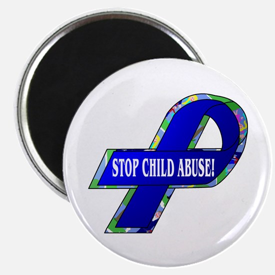 Child Abuse Awareness Magnet