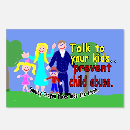 Abuse Awareness Postcards (Package of 8)