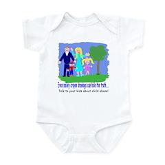 Abuse Awareness Infant Creeper