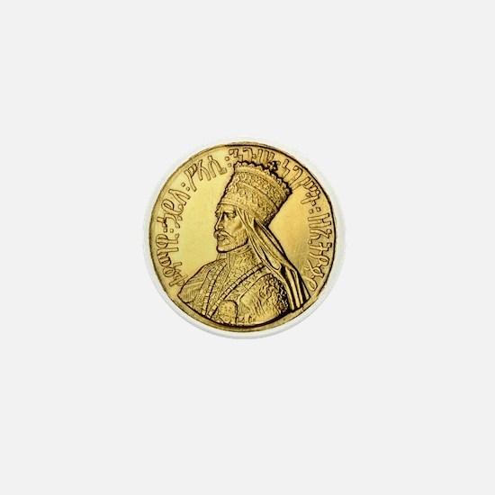 Haile Selassie I King of Kings Mini Button