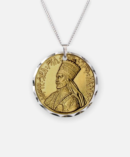 Haile Selassie I King of Kings Necklace
