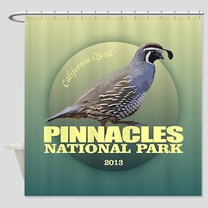 Pinnacles NP Shower Curtain