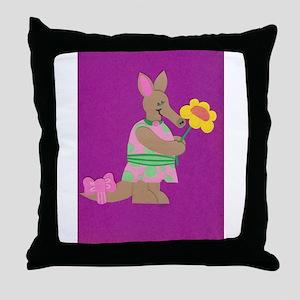 Aardvark Frield Throw Pillow