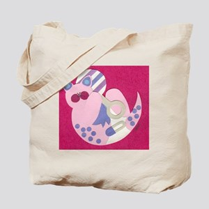 Pink Baby Kitty Tote Bag