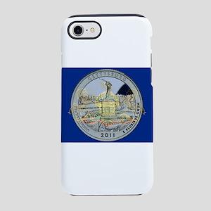 Pennsylvania Quarter 2011 iPhone 7 Tough Case