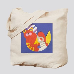 Blue Baby Kitty Tote Bag