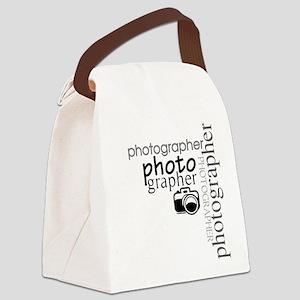 photographer1 Canvas Lunch Bag