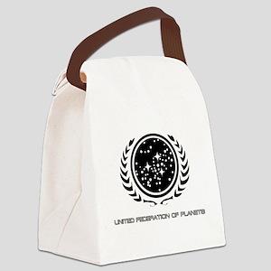 Federation_logo_title Canvas Lunch Bag