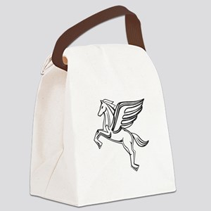 pegasus-tshirt3 Canvas Lunch Bag