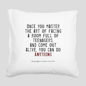 pegasus2-dark Square Canvas Pillow