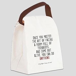 pegasus2-dark Canvas Lunch Bag