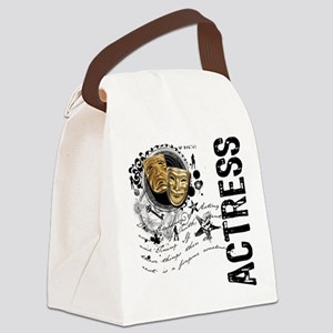 actress1 Canvas Lunch Bag
