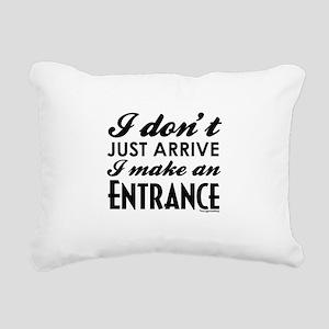Entrance Rectangular Canvas Pillow