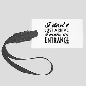 Entrance Large Luggage Tag