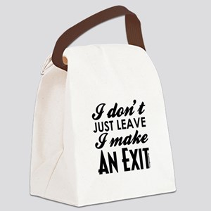 Exit Canvas Lunch Bag