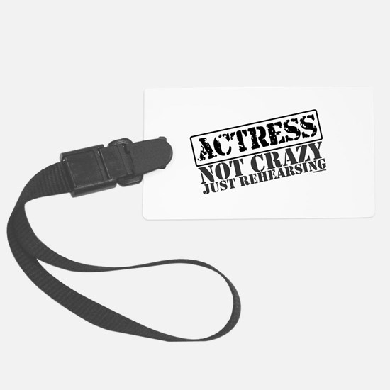 actress.png Luggage Tag