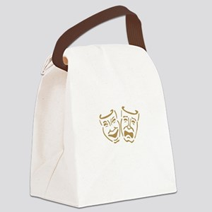 masks1 Canvas Lunch Bag