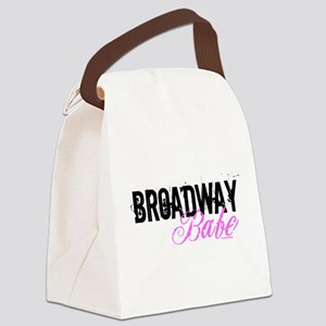 broadwaybabe1 Canvas Lunch Bag