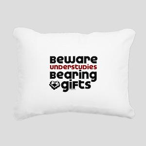 Understudies Rectangular Canvas Pillow