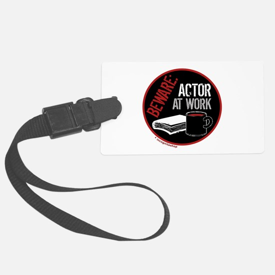 3-actoratwork1.png Luggage Tag