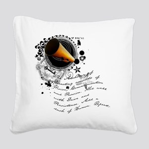 director2 Square Canvas Pillow