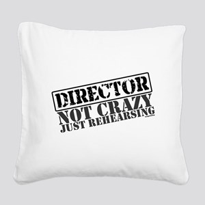 director Square Canvas Pillow