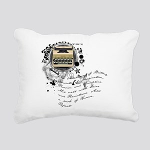 writer2 Rectangular Canvas Pillow