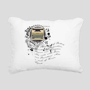 writer2 Rectangular Canvas Pillow