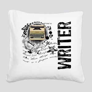 writer1 Square Canvas Pillow