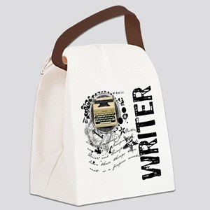 writer1 Canvas Lunch Bag
