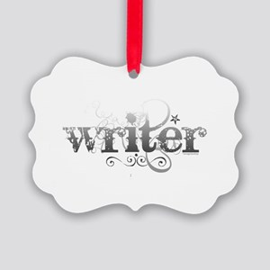 writer.png Picture Ornament