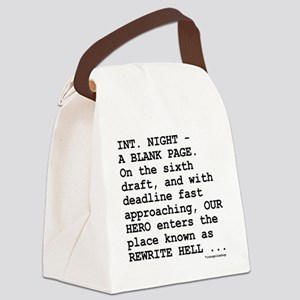 rewrite-hell1 Canvas Lunch Bag