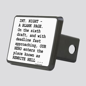 rewrite-hell1 Rectangular Hitch Cover