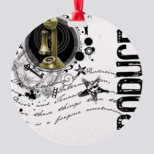 producer1 Round Ornament