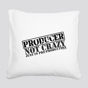 producer Square Canvas Pillow