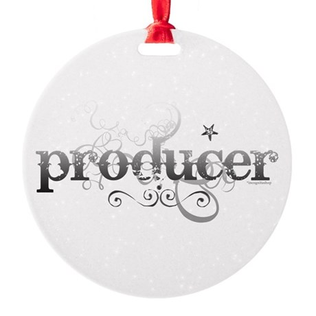 producer.png Round Ornament