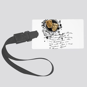 crew2-theatre Large Luggage Tag