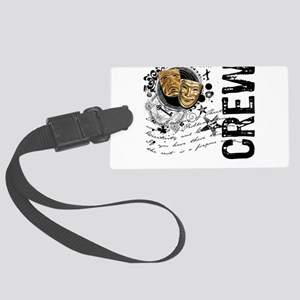 crew1-theatre Large Luggage Tag