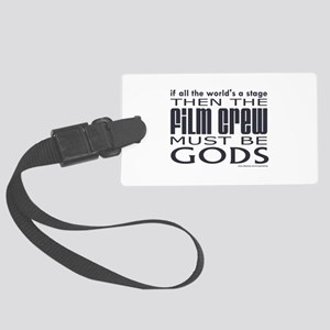 3-filmcrew Large Luggage Tag
