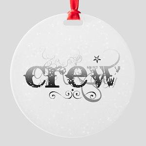 crew Round Ornament