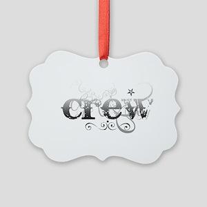 crew Picture Ornament