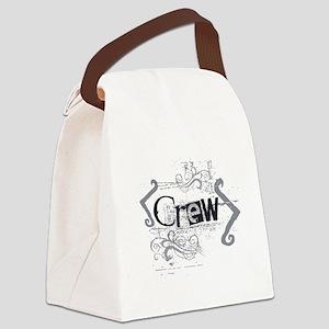 Grunge Designs2 Canvas Lunch Bag