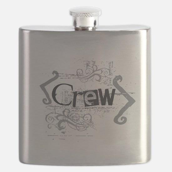 Grunge Designs2 Flask